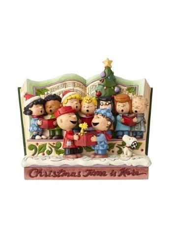 Peanuts Christmas Storybook Figurine