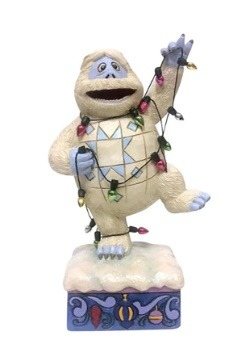 Bumble Wrapped in Lights Figurine