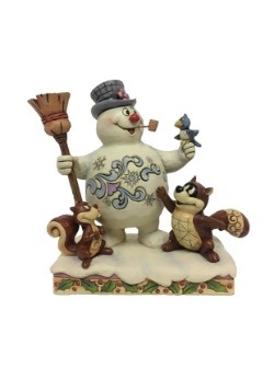 Frosty and Woodland Friends Figure