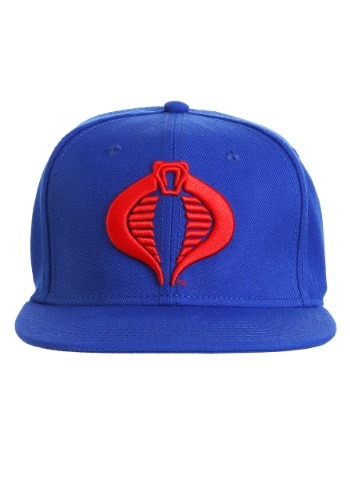 GI Joe Cobra Commander Logo Snap Back Hat