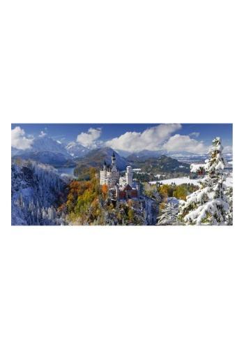 Neuschwanstein Castle 2000 Piece Ravensburger Panorama Puzzl