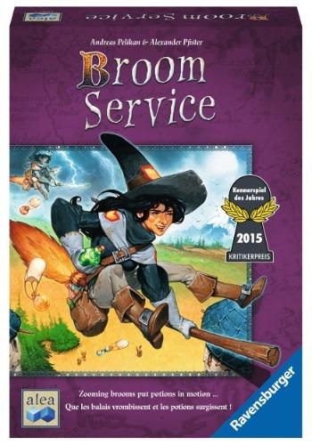Broom Service Strategy Board Game