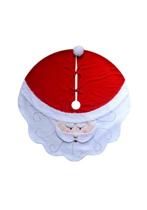 """52"""" Santa Head Tree Skirt"""