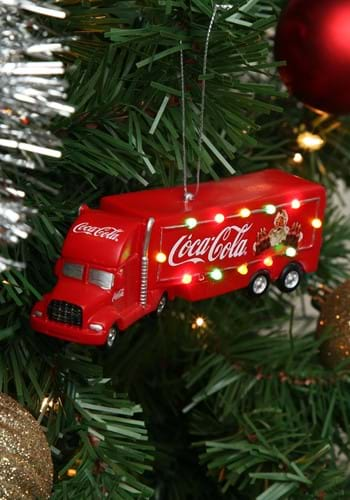 "5"" Coca-Cola Truck w/ Lights"