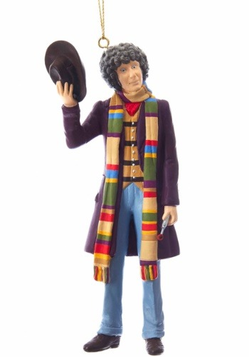 "5"" Doctor Who 4th Doctor Tom Baker Ornament"