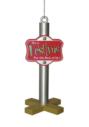 "3.5"" Seinfeld Festivus Pole Molded Ornament"