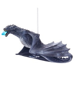 "7.5"" Game of Thrones Ice Dragon Molded Ornament"