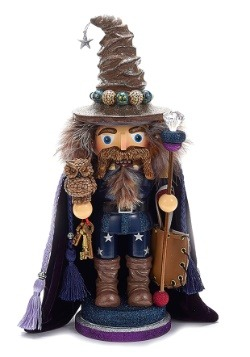 "15"" Hollywood Brown Wizard Nutcracker"