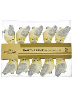 White Owl 10 Piece String Light Set