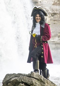 Mens Ultimate Captain Hook Costume Alt 2