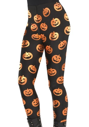 Pumpkin Leggings for Adults