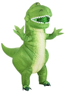 Adult Toy Story Rex Inflatable Costume