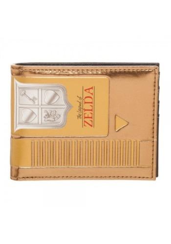 Nintendo Zelda Gold Cartridge Bi-Fold Wallet