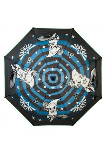 Nintendo Zelda Liquid Reactive Color Changing Umbrella