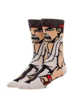 Street Fighter Ryu 360 Crew Socks