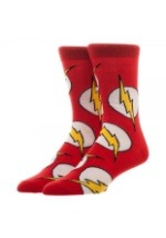 DC Comics Flash Large All Over Print Crew Socks