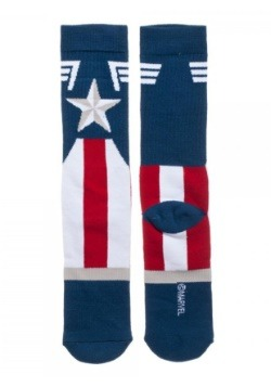 Marvel Captain America Suit Up Crew Socksalt2