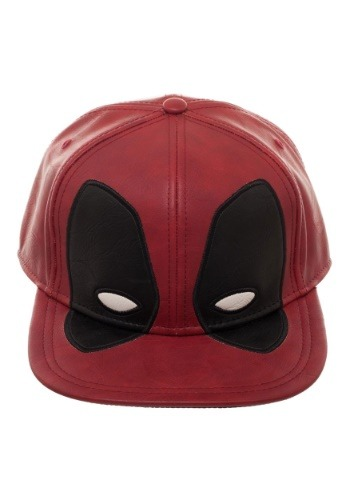 Deadpool Big Face Distressed PU Snapback
