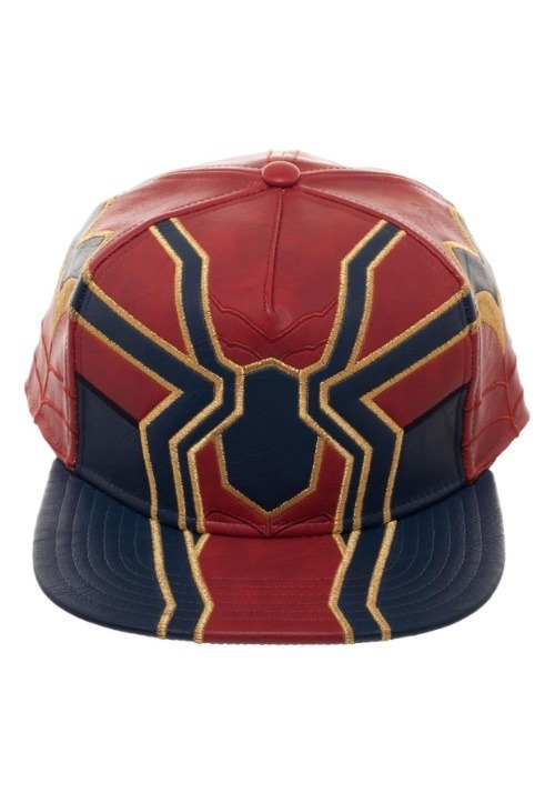 Avengers Infinity War Iron Spider Suit Up PU Snapback