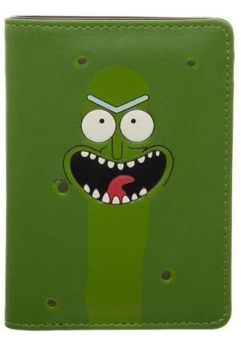 Rick and Morty Pickle Rick Vertical Bi-Fold Wallet