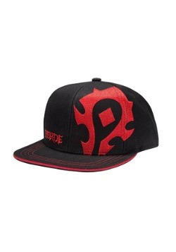 World of Warcraft Horde Pledge Snap-back Hat