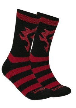 World of Warcraft Horde Knit Socks