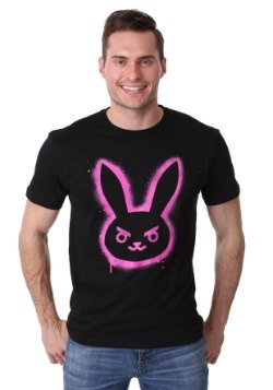 Men's Overwatch D.Va Spray Bunny T-Shirt