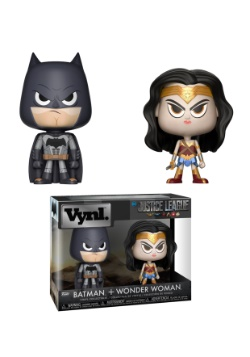 Vynl: DC Comics- 2 Pack- Wonder Woman & Batman