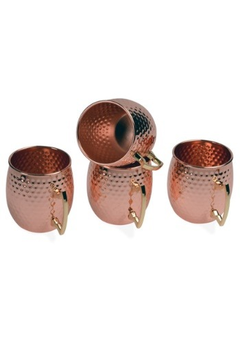 Copper Moscow Mule 16oz 4 Pack