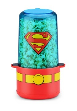 Superman Mini Stir Popcorn Popper