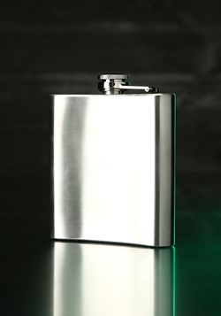 Beetlejuice Summoning 8 oz Flask
