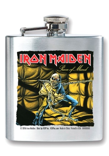 Iron Maiden Piece of Mind 8 oz Flask