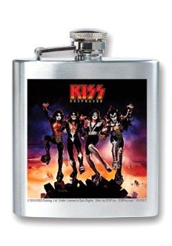 Kiss Destroyer 8 oz Flask
