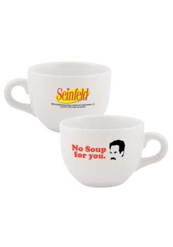Seinfeld No Soup For You 24 oz Soup Mug