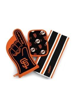 San Francisco Giants #1 Oven Mitt 3-Piece Set