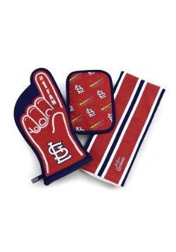 St. Louis Cardinals #1 Oven Mitt 3-Piece Set
