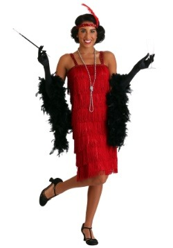 Florence Red Flapper Costume