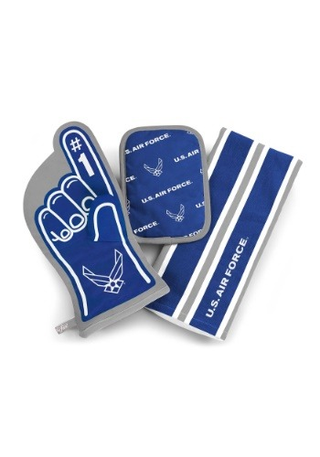 US Air Force #1 Oven Mitt 3-Piece Set