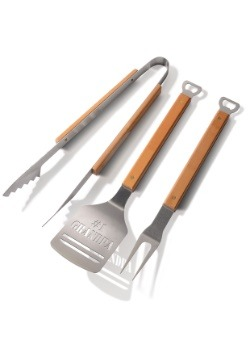 #1 Grandpa 3-Piece BBQ Set