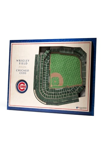 Chicago Cubs 5 Layer StadiumViews 3D Wall Art