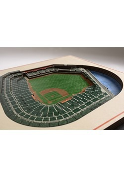 San Francisco Giants 5 Layer Stadiumviews 3D Wall  Alt 1