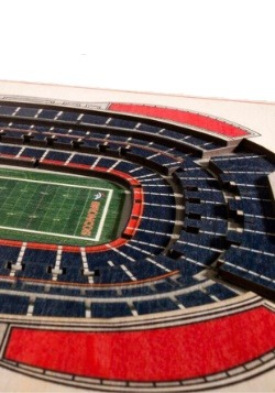 Denver Broncos 5 Layer Stadiumviews 3D Wall Art 2
