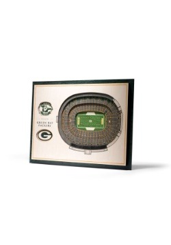 Green Bay Packers 5 Layer Stadiumviews 3D Wall Art