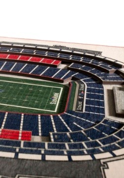 New England Patriots 5 Layer Stadiumviews 3D Wall Art 2