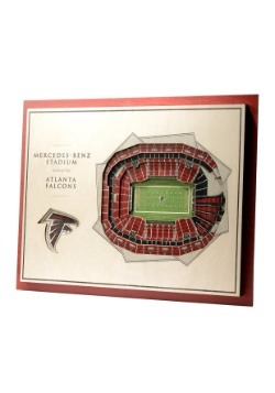 Atlanta Falcons 5 Layer Stadiumviews 3D Wall Art