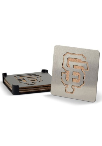 San Francisco Giants Boaster Coasters Set