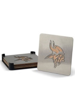 Minnesota Vikings Boaster Coaster Set