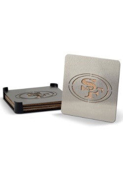 San Francisco 49ers Boaster Coaster Set