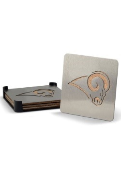 Los Angeles Rams Boaster Coaster Set