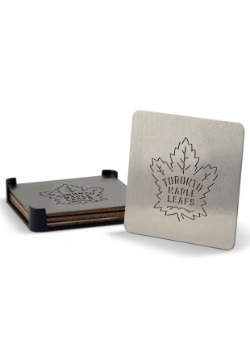 Toronto Maple Leafs Boaster Coaster Set